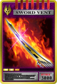 KRRy-Sword Vent Card (Ryuki Survive)