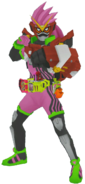 Kamen Rider Ex-Aid Gekitotsu Robots in City Wars