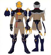Kamen Rider Mage Mayu concept art