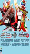 Ranger And Rider Mixup-Adventure