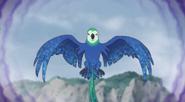 Nightmare Rimel Bird using Dark magic