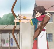 Ryouma using Bo