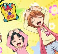 Zuzumin, Yui and Mirai Wanda-ho