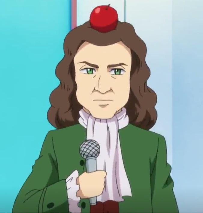 Isaac Newton Kamiwaza Wanda Wikia Fandom