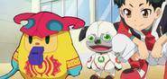 Wanda and Yuto with Zuzumin