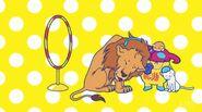 Screenshot Showing Zuzumin After He Tamed A Hamster, A Cat And A Lion