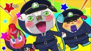 Screenshot Showing Wanda, Turbomin And Zuzumin As Policemen