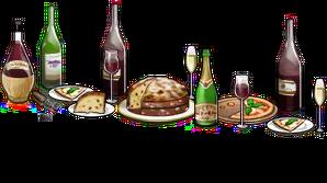 Bar Italian wine+Christmas