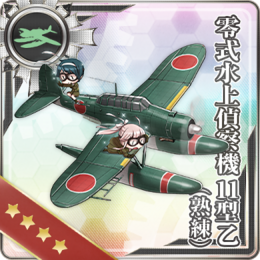 Type 0 Reconnaissance Seaplane Model 11B (Skilled) 239 Card.png