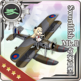 Swordfish Mk.II Kai (Reconnaissance Seaplane Model) 370 Card.png
