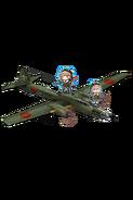 Type 4 Heavy Bomber Hiryuu (Skilled) 404 Full