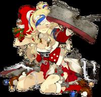 Commandant Teste Christmas Full Damaged