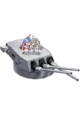 16inch Triple Gun Mount Mk.6 + GFCS 390 Full