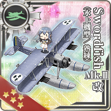 Swordfish Mk.III Kai (Seaplane Model Skilled) 369 Card.png