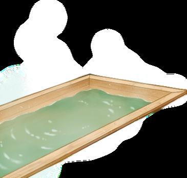 Blank Hinoki wood hot spring bath