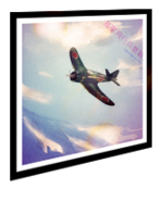 Prototype fighter poster