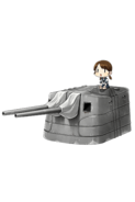 12.7cm Twin Gun Mount Model A 297 Full