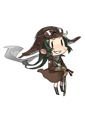 Shiden Kai (343 Air Group) 301st Fighter Squadron 263 Character.png