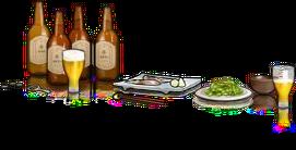 Bar Beer+Mackerel