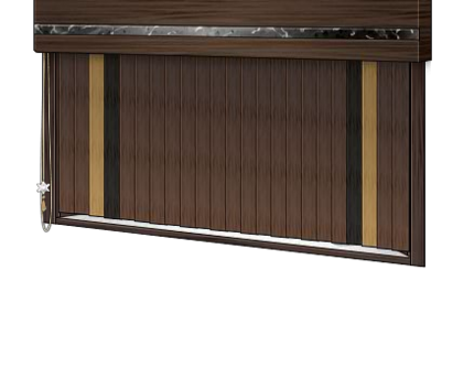 Fine Wooden Blinds Window(Closed)