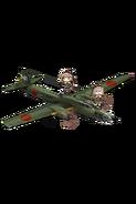 Type 4 Heavy Bomber Hiryuu 403 Full