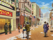 Shopping district 2002