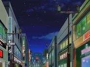 Shopping district night 2002