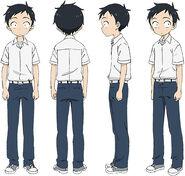 Nishikata Anime Design