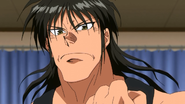 Narumi telling Masaru that he will become strong