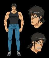 Narumi anime designs