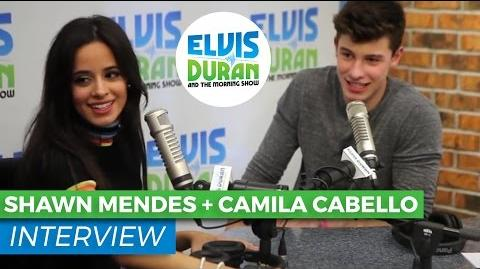 Shawn Mendes & Camila Cabello - I Know What You Did Last Summer Interview Elvis Duran Show