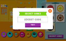 Entering a code