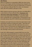856 INFO 2015 BoBr PAGE 68 LIFE HISTORY ONLY