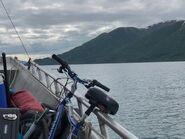 Ranger's boat trip across Naknek Lake to Brooks Camp June 13, 2020 NPS photo by Ranger Naomi Boak .01