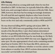 LURCH 814 INFO 2018 BoBr PAGE 114 LIFE HISTORY PART 1 of 2 ONLY