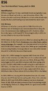 856's page in the 2021 Bears of Brooks River book page 77