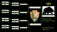 2014 FAT BEAR TUESDAY 2014.09.30 08.00 KNP&P FB POST 1ST ANNUAL FAT BEAR TUESDAY BRACKET ONLY
