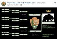 2014 FAT BEAR TUESDAY 2014.09.30 15.08 KNP&P FB POST CONTEST PROGRESS UPDATE w UPDATED BRACKET