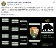2014 FAT BEAR TUESDAY 2014.09.30 12.37 KNP&P FB POST CONTEST PROGRESS UPDATE w UPDATED BRACKET