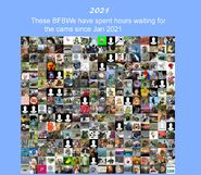 Pitchey's 2021 Bear Watcher's Collage