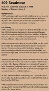 BEADNOSE 409 INFO 2017 BoBr PAGE 50 INFO ONLY