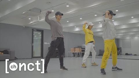 N'-68 TEN's Choreography Practice Behind