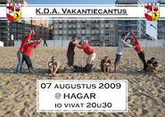 Vakantiecantus 2009