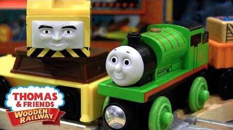 Reg & Percy at the Scrapyard Set Review ThomasWoodenRailway Discussion 79