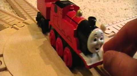 Old Style Battery-Powered James Review ThomasWoodenRailway Discussion 45