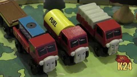Horrid Lorries Review ThomasWoodenRailway Discussion 61