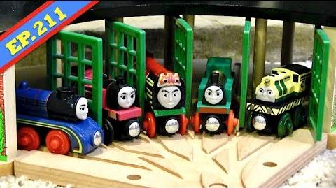 Roundhouse Roulette Thomas & Friends Wooden Railway Adventures Episode 211