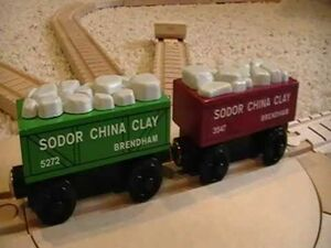 Sodor China Clay Trucks in a ThomasWoodenRailway Discussion.jpg