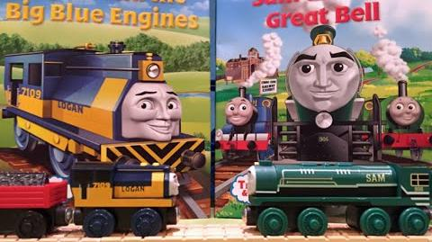 Logan & Sam Dual Review ThomasWoodenRailway Discussion 68