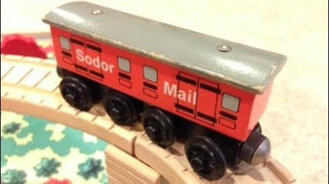 Sodor Mail Coach Review ThomasWoodenRailway Discussion 62